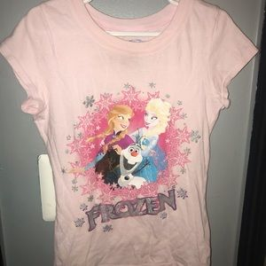 Frozen Pink Elsa & Anna Tee